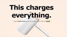 Viral-Kampagne: So veräppelt Ikea Apple mit seiner drahtlosen Lade-Lampe