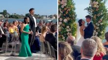 TikTok divided by Bachelor bride's stunt at her wedding: 'So awkward'