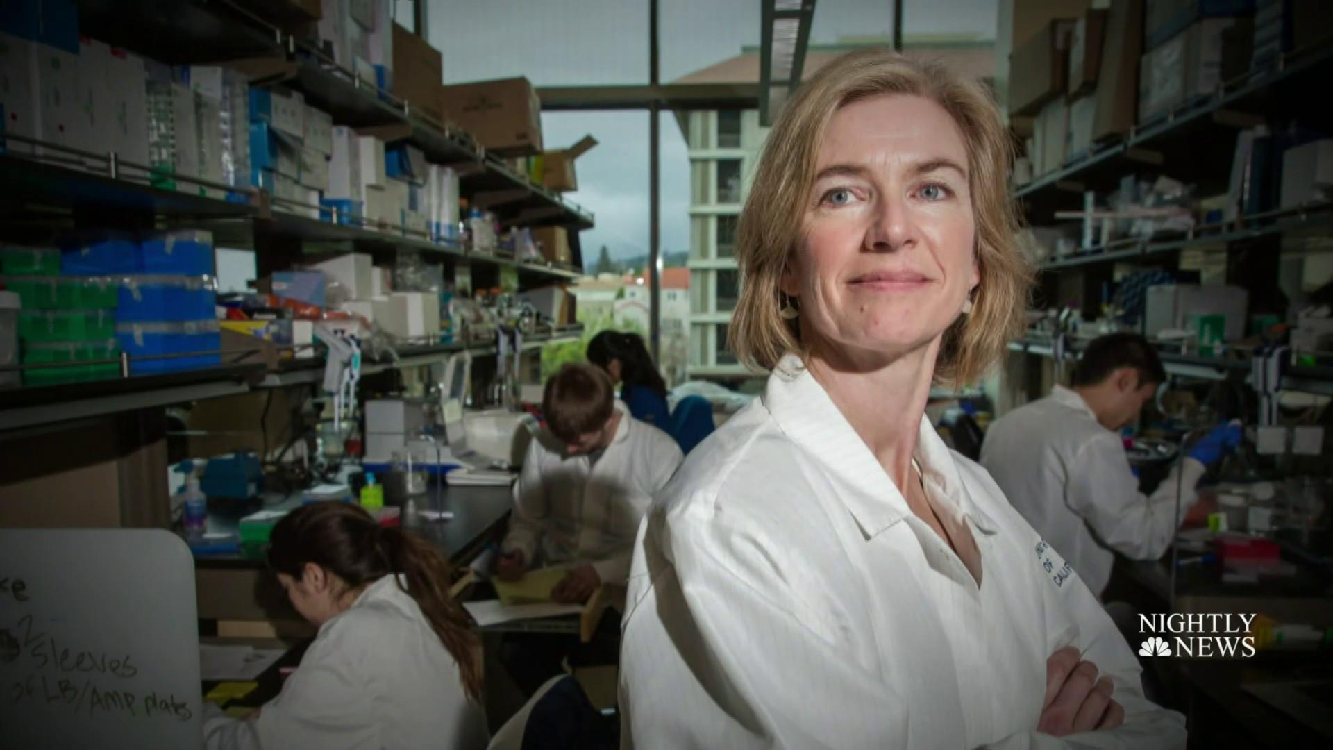 Nobel winner Jennifer Doudna's advice for young scientists: 'Go for it'
