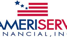 AmeriServ Financial Reports Earnings For The Third Quarter And First Nine Months Of 2019