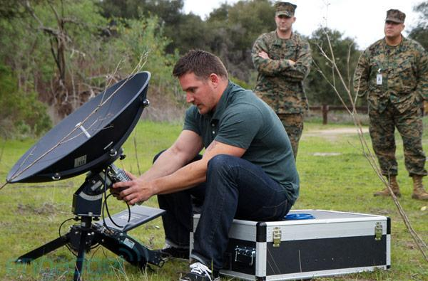 Live from Camp Pendleton with ViaSat SurfBeam 2 Pro Portable (video)