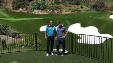 Mark Wahlberg Turns His Backyard Into a Private Golf Course Because He Can