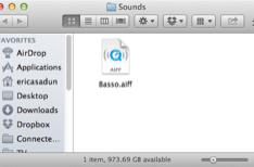 Mac Hacks: Change your default Notification Center sound