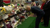 Biden signs condolence book for Nelson Mandela