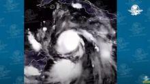 El huracán Delta se ve así desde el espacio; satélites captan su paso