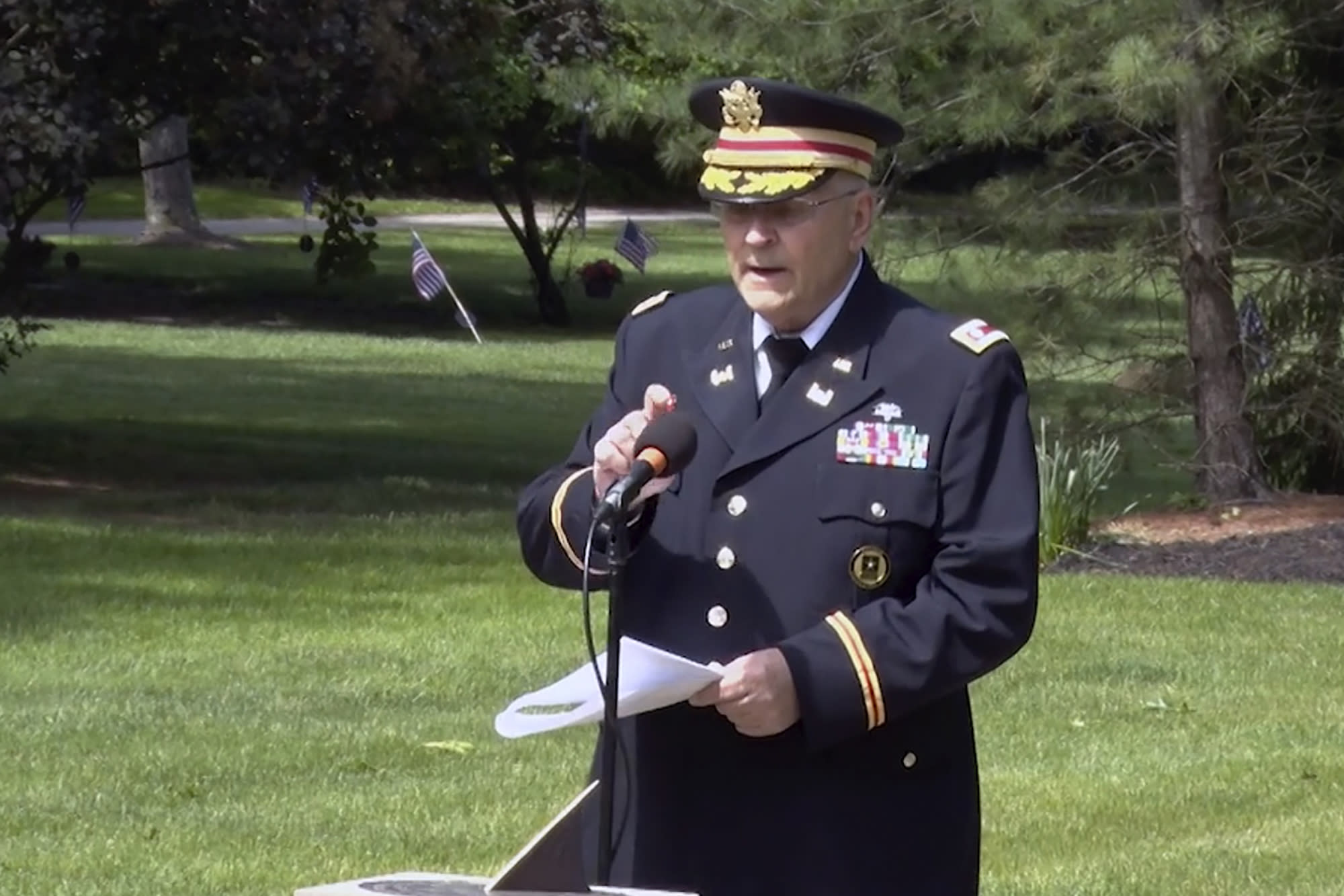 Another official resigns over censored Memorial Day speech