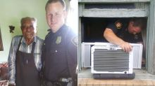 Police, strangers fix 95-year-old's air conditioner after Texas heat prompts him to dial 911