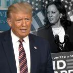 Kamala Harris running as VP sends Trump back to his favorite pastime — bashing California