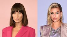 Bella Hadid shared an image of her celebrity doppelganger and Hailey Baldwin fell for it