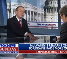 Mick Mulvaney Melts Down Under Brutal Grilling By Fox's Chris Wallace