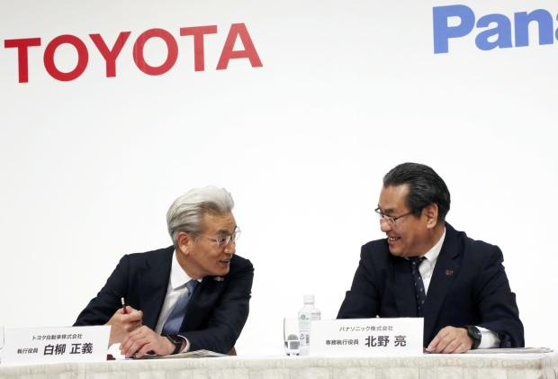 Toyota and Panasonic will start producing EV batteries in April