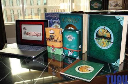 Nukotoys introduces two physical card sets for interacting with iPad apps