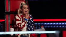Miley Cyrus Rocked as a Coach on 'The Voice'