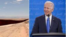 Biden no construirá otro pie del muro durante su administración