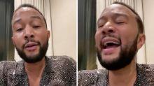 "John Legend canta ""Georgia On My Mind"" para celebrar la derrota de Trump en ese estado"