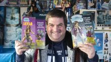 Doctor Who superfan shows off his collection