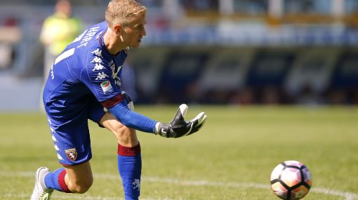 Hart on hand to spoil Totti celebrations