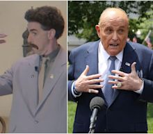 Borat posted an 'official statement' defending Rudy Giuliani for having an 'innocent sexy-time encounter' with his 'daughter'