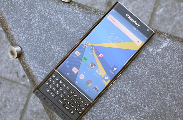 BlackBerry's Android phone is coming to Verizon, too