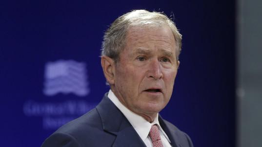 Bush slams 'bullying and prejudice in our public life'
