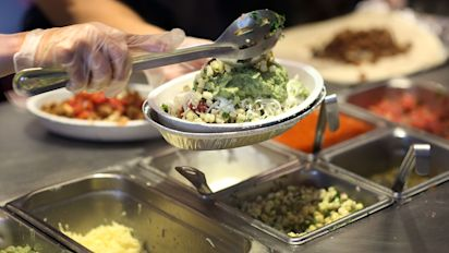 Chipotle sales beat expectations, stock jumps