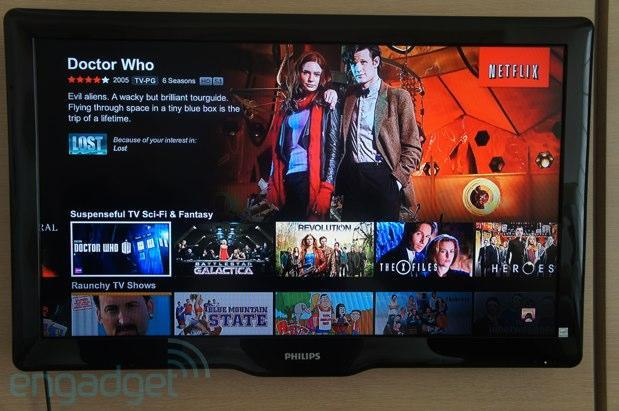 Netflix updates Xbox 360, PS3, Roku and Smart TV apps with unified interface