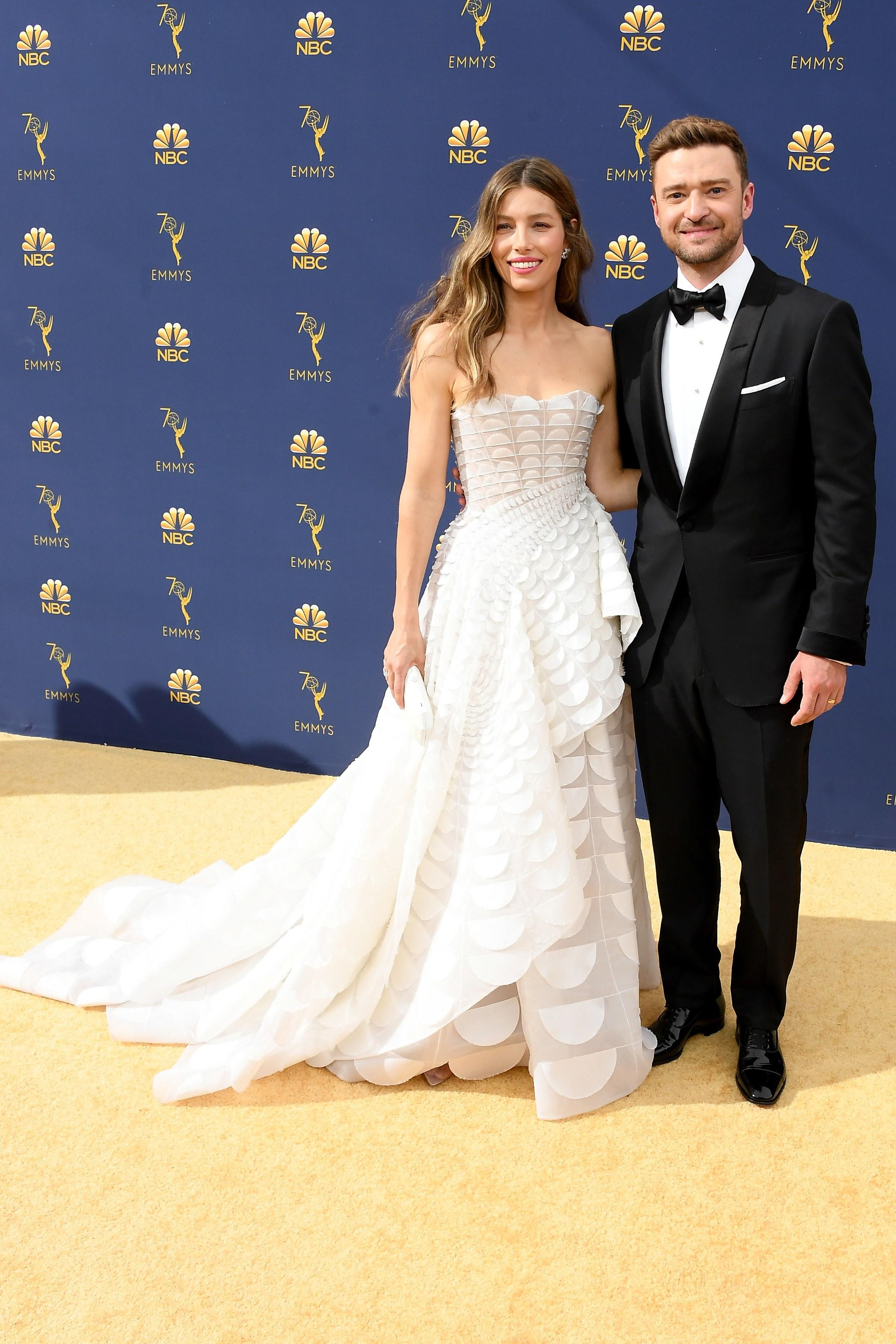 The Cutest Dates On The Emmys 2018 Carpet We ended up jumping in the lake in our suit and gown, it was ridiculously hot. yahoo sports