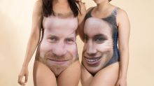 These Prince Harry And Meghan Markle Bathing Suits Are... Something Else