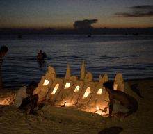 Philippine 'castle boys' in shifting sands of Boracay closure