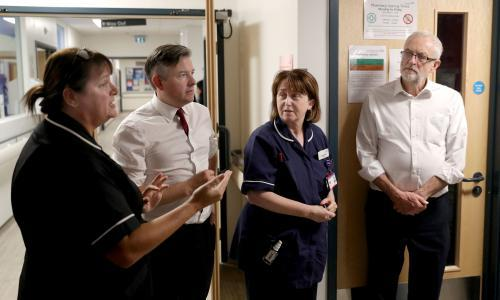 NHS staff working 1m hours a week of unpaid overtime, Labour says
