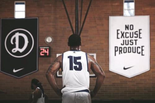 At the Drew League,