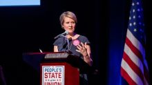 """Ex-héroïne de """"Sex and the City"""", Cynthia Nixon se lance dans la course pour devenir gouverneure de New York"""