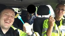 Police officers share bag of chips with hungry 'illegal immigrant' after arresting him on the M1