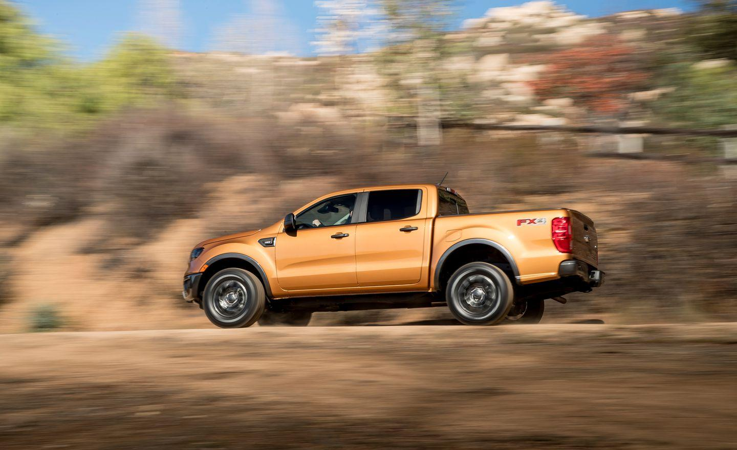 Every Photo You Need to See of the 2019 Ford Ranger Pickup