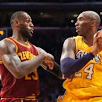 Kobe Bryant's last tweet before he died was congratulating LeBron James on surpassing him on the NBA all-time scoring list