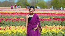 Meet Ajanta Mahapatra, a woman who travelled 68 countries in colourful saris