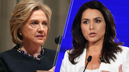 Clinton says Gabbard is a 'favorite of the Russians'