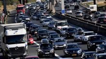 Circulation : 760 km de bouchons à la mi-journée sous un soleil de plomb pour le premier samedi noir sur les routes