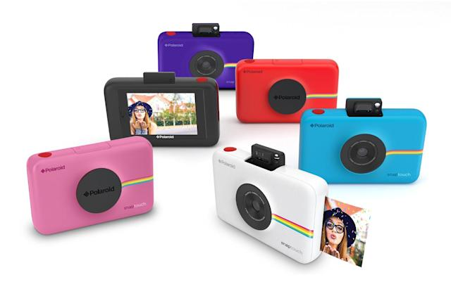 Polaroid's digital camera with inkless printing ships in October
