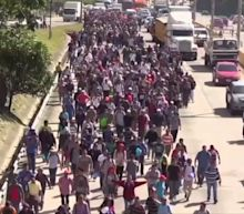 Migrant Caravan Settles Near US-Mexico Border