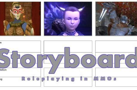 Storyboard: You are what you pretend to be