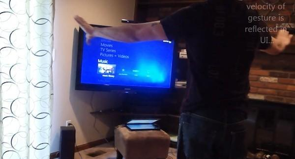 Kinect for Media Center released, why not wave and shout at your HTPC?