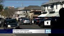 Suspect In Gunfight With Stockton Officers Dies Of Injuries