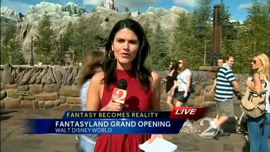 New Fantasyland now open at Disney World