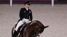 Olympics-Equestrian-Germany lead qualifiers for team dressage final