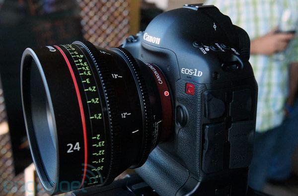 Canon Cinema EOS-1D C 4K camera hands-on (video)