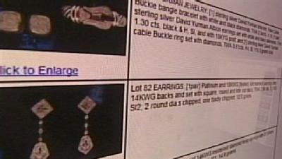 Lavish Jewelry To Be Auctioned Off