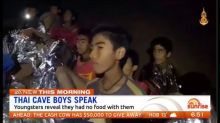 Thai cave boys were without food for nine days