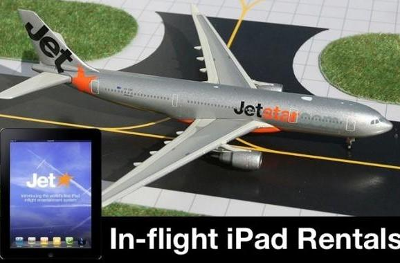 Australia's Jetstar Airways takes the training wheels off iPad rental program, wants the tablet 'on every aircraft'