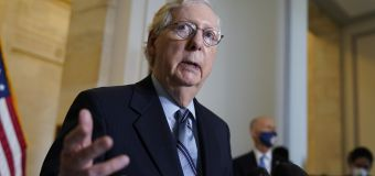 Citing GOP unity, McConnell vows to stop Biden agenda